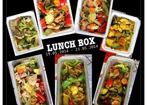 Lunch box (kosilo) of the week. (19.05 - 23.05.2014)  1.    Ocvrti riž z:    a.    piščancem in...